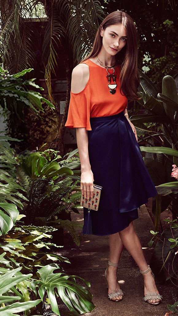 Carven Asymmetrical Skirt