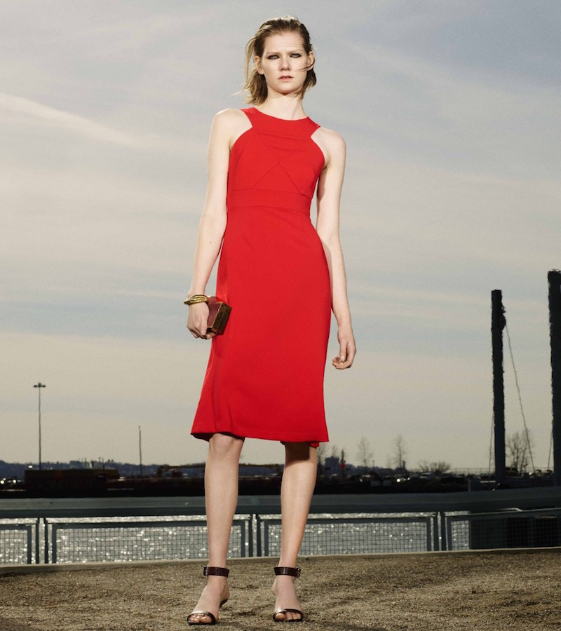 Charles Youssef Matte Jersey Sleeveless Dress