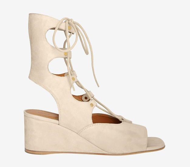 Chloé Wedge Gladiator Sandal