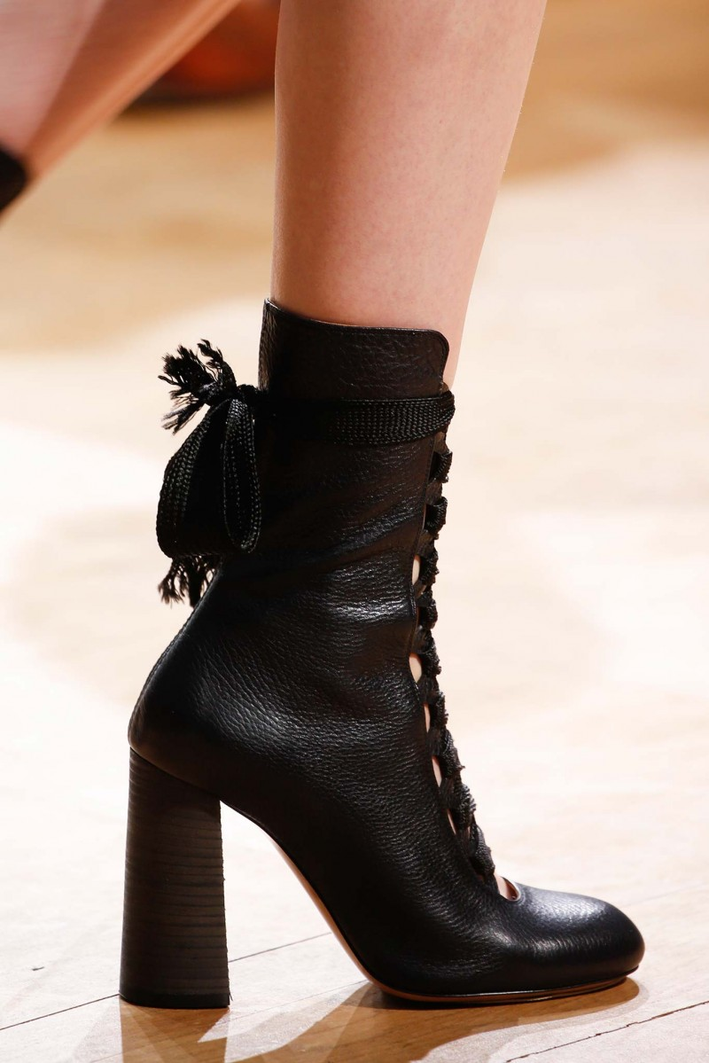 Runway Details Fall 2015 Disigner Shoes Nawo