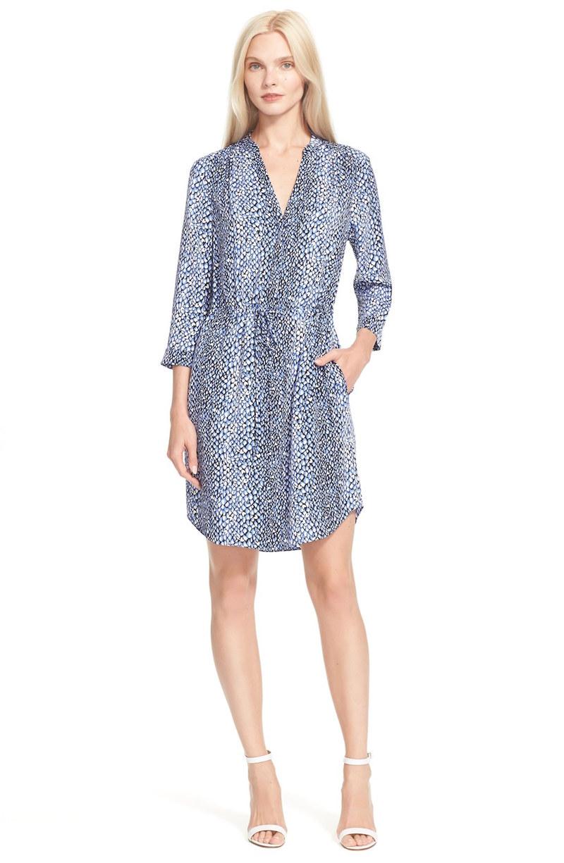 Diane von Furstenberg Freya Silk Shirtdress