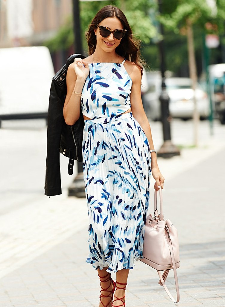 Elle Sasson Mara Silk Maxi Dress