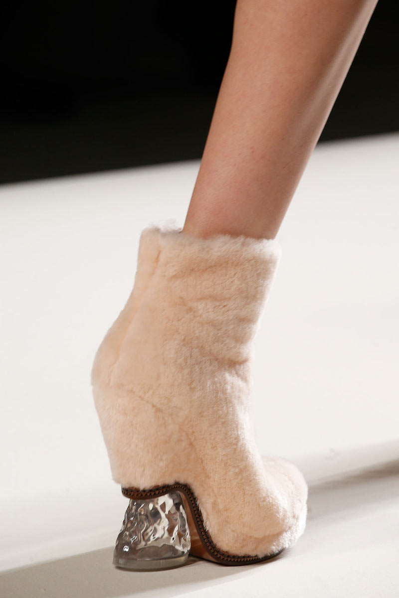 Fendi Shearling Fur Ice-Heel Boot