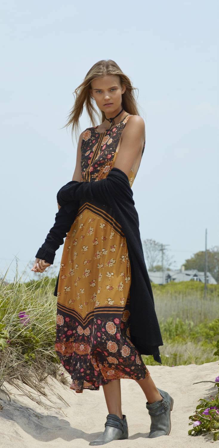 Free People Sunrise Oblivion Dress