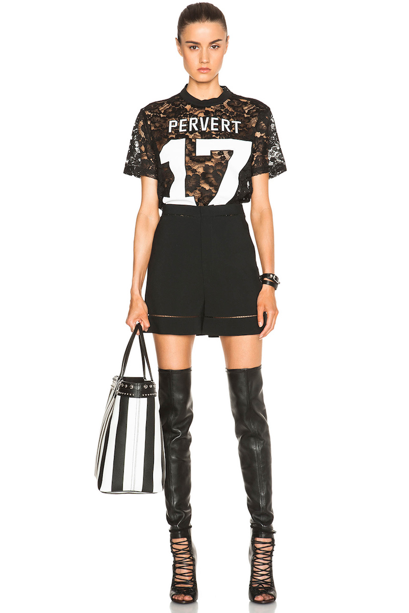 Givenchy Lace Pervert 17 Tee