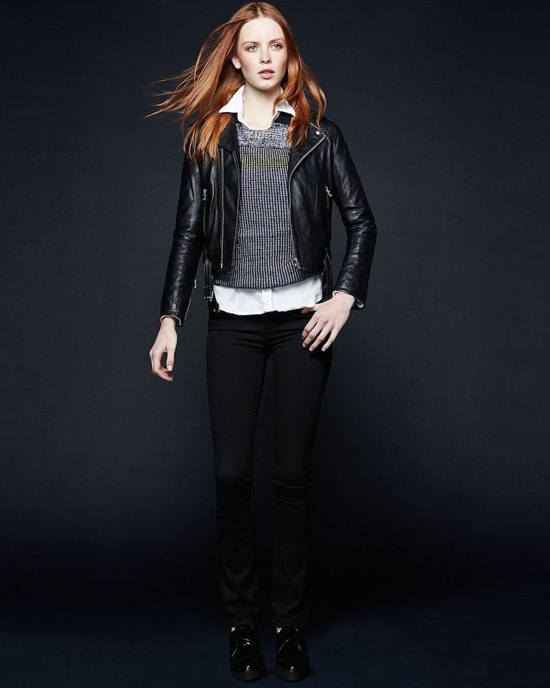 IRO Galaxy Lambskin Leather Jacket