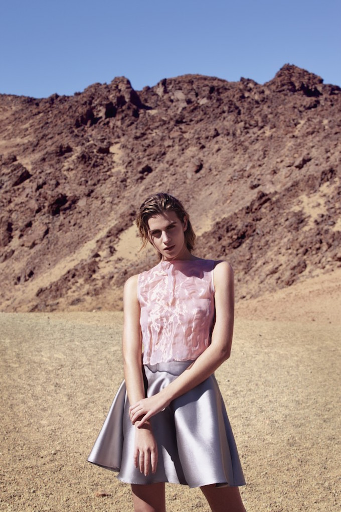 Iris van Herpen Knee Length Skirt