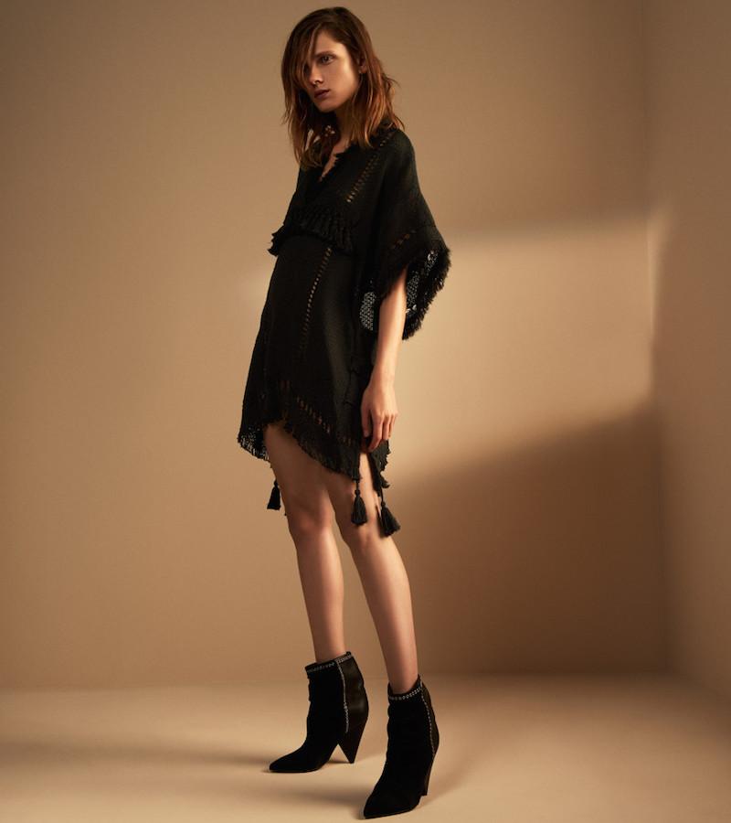 Isabel Marant Fringed Telima Tunic-Dress