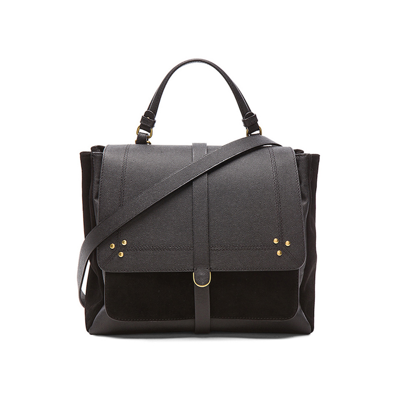 Jerome Dreyfuss Calfskin Edouard Bag