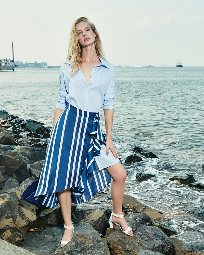 Johanna Ortiz Silk Printed San Sebastian Skirt