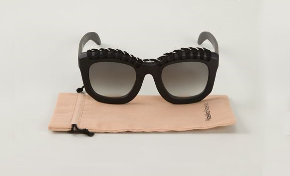 Kuboraum knitted detail sunglasses
