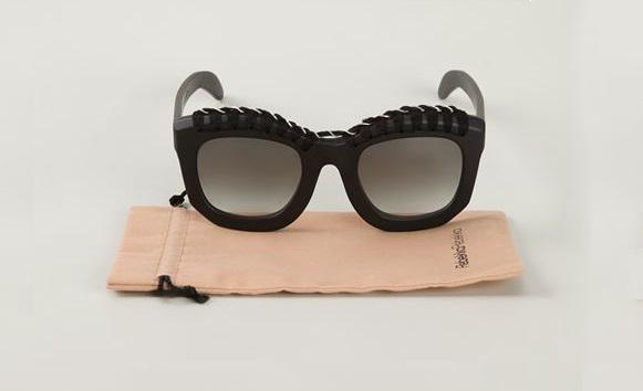 Kuboraum knitted detail sunglasses