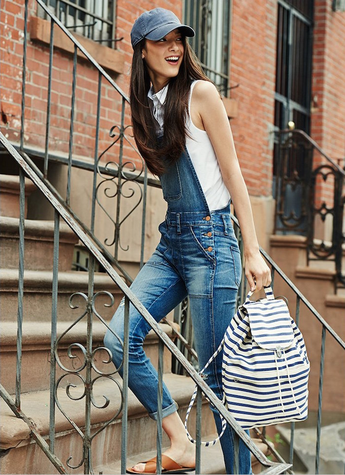 Madewell Skinny Adrian Wash Overalls