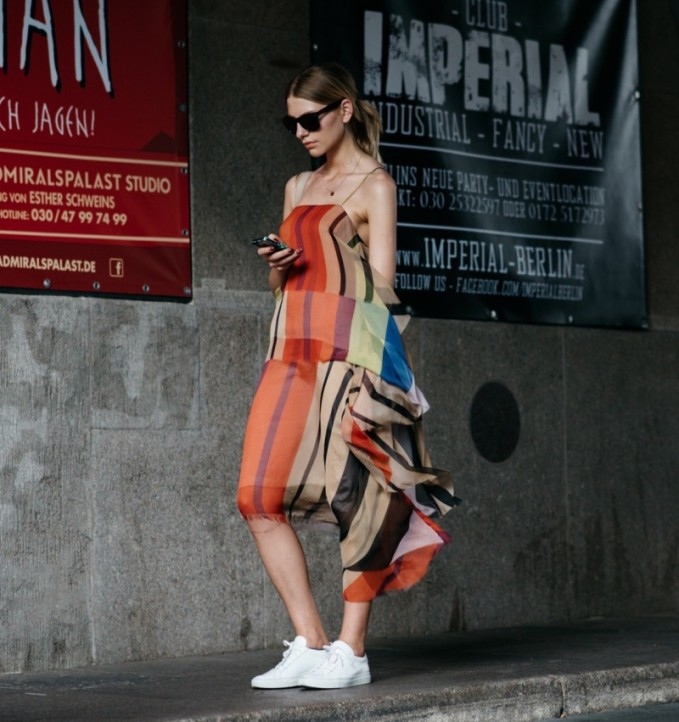 Marques'Almeida Patchwork silk scarf dress
