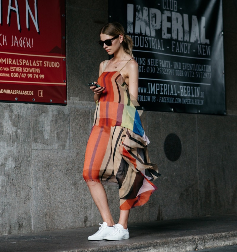 Marques'Almeida Patchwork silk scarf dress