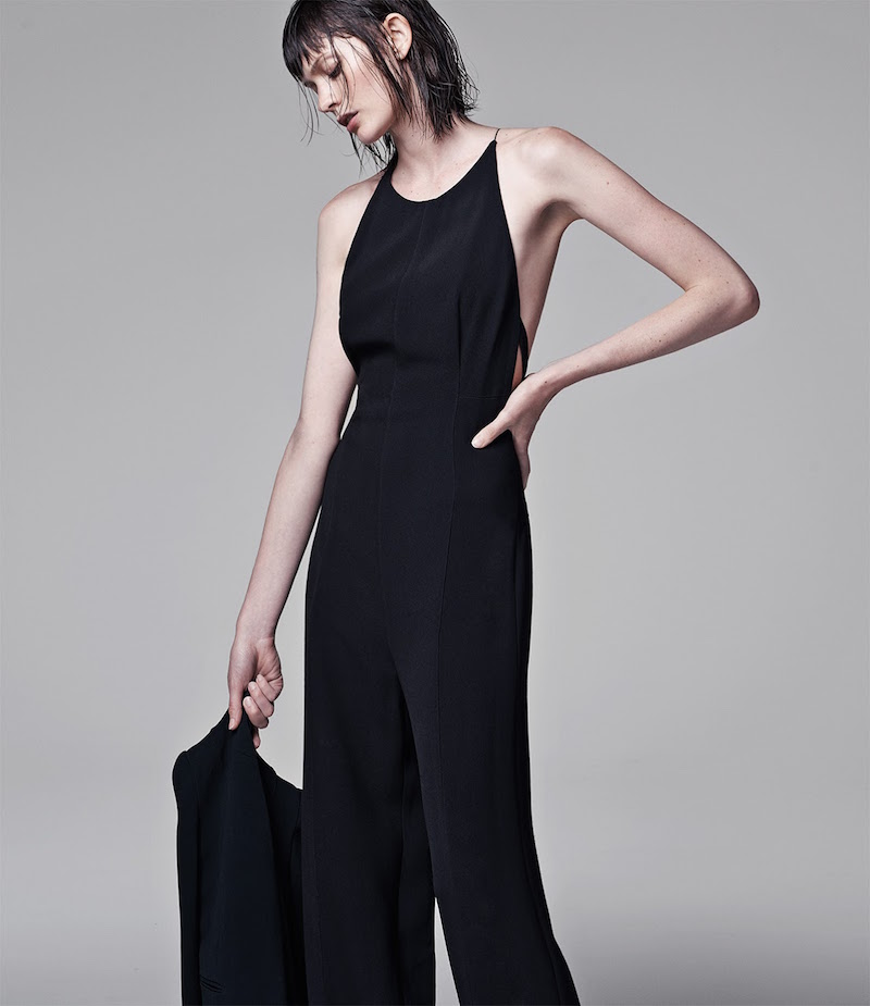 Narciso Rodriguez Cady Wide-Leg Jumpsuit