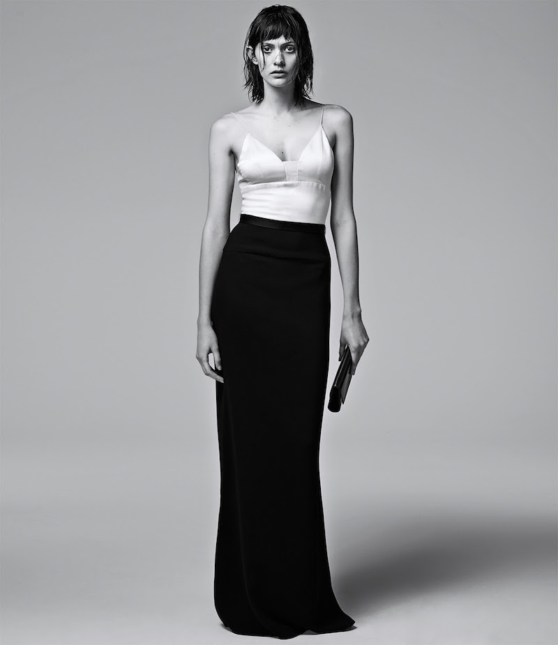 Narciso Rodriguez Two-Tone Gown