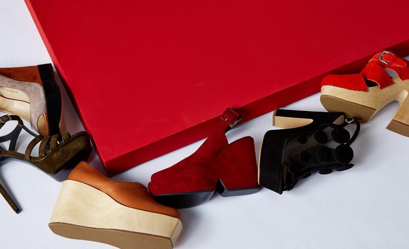 Nicholas Kirkwood Quantum suede and mesh platform sandals