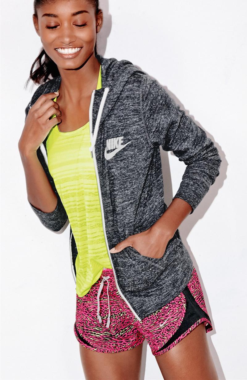 Nike Gym Vintage Zip Front Hoodie