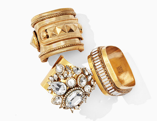 Perfectly Stacked Bracelets at MYHABIT