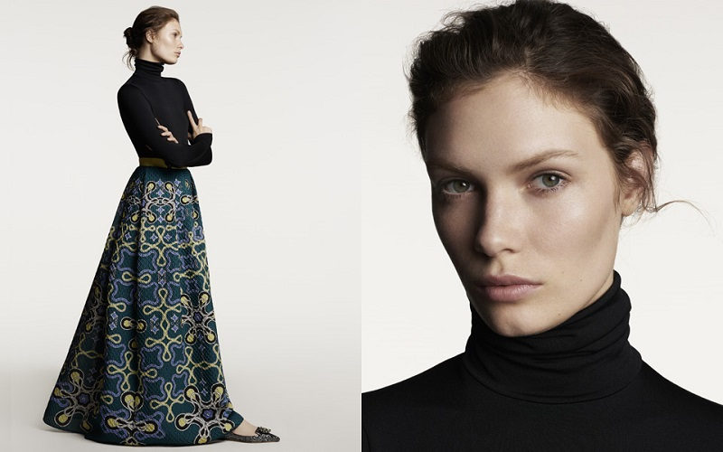 Peter Pilotto Freya printed skirt
