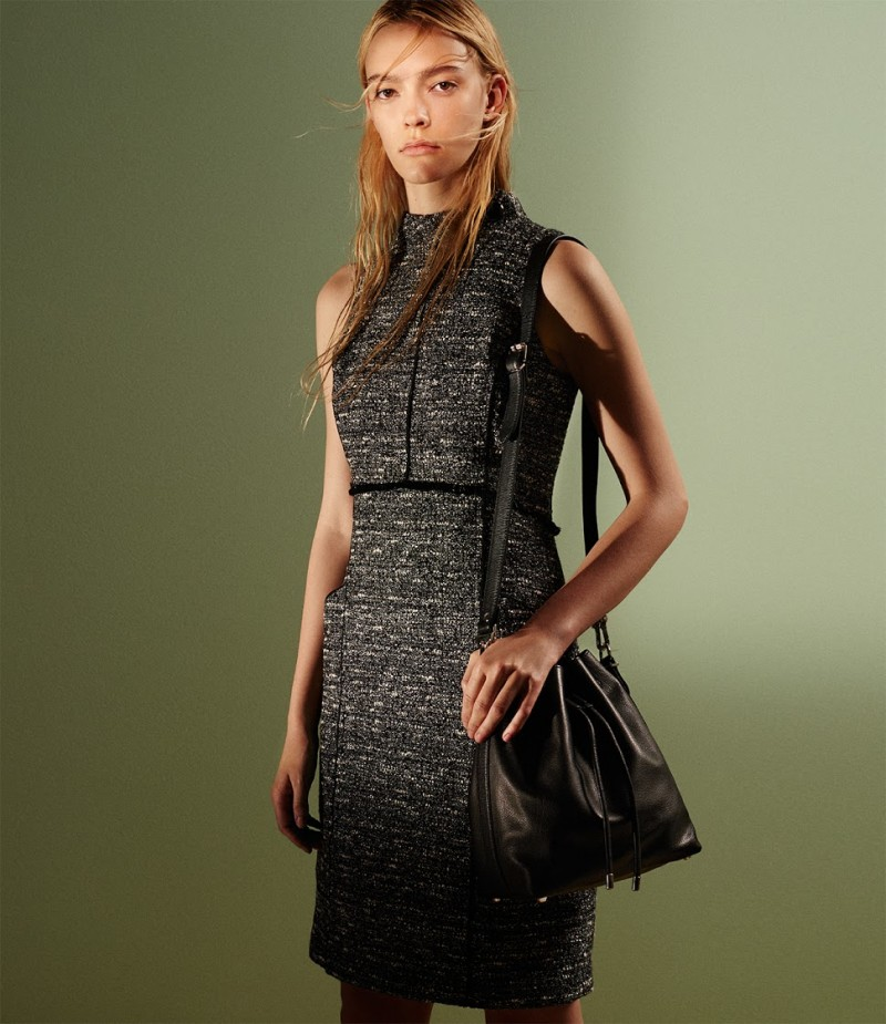 Proenza Schouler Tweed Sheath Dress