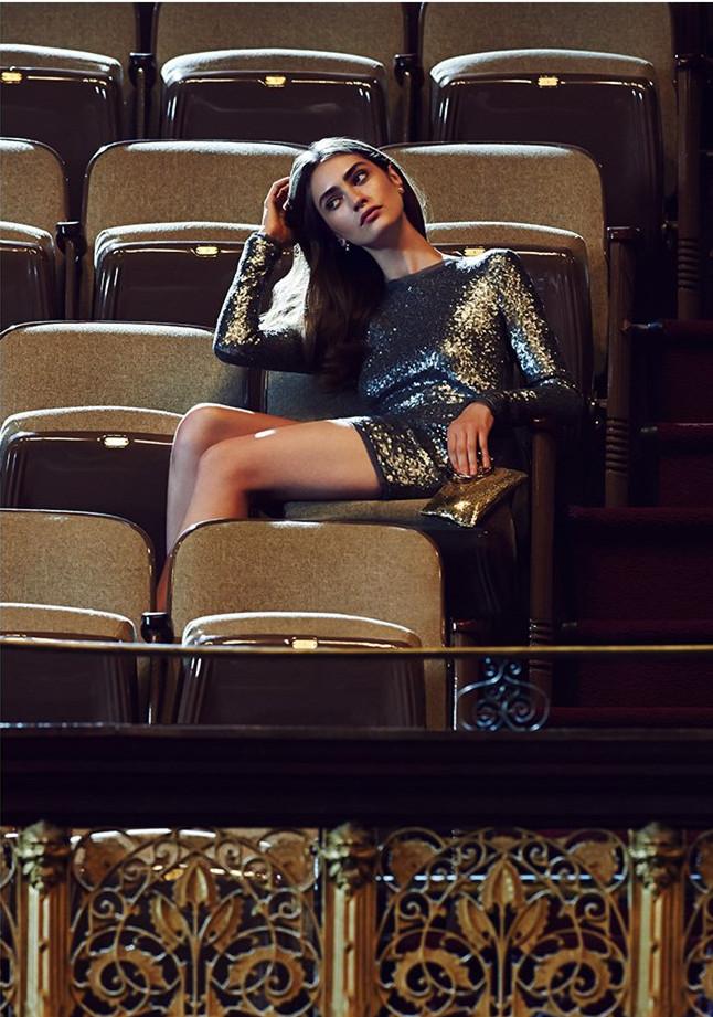 Rachel Zoe Sequin Mini Dress-