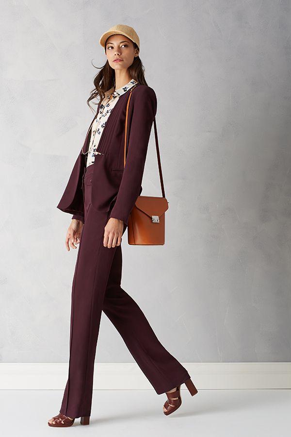 Rebecca Taylor Refined Suiting Blazer