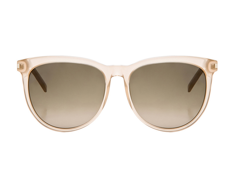 Saint Laurent 24 Sunglasses in Beige Opal