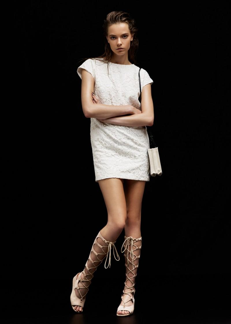 Saint Laurent Lace Tunic Dress