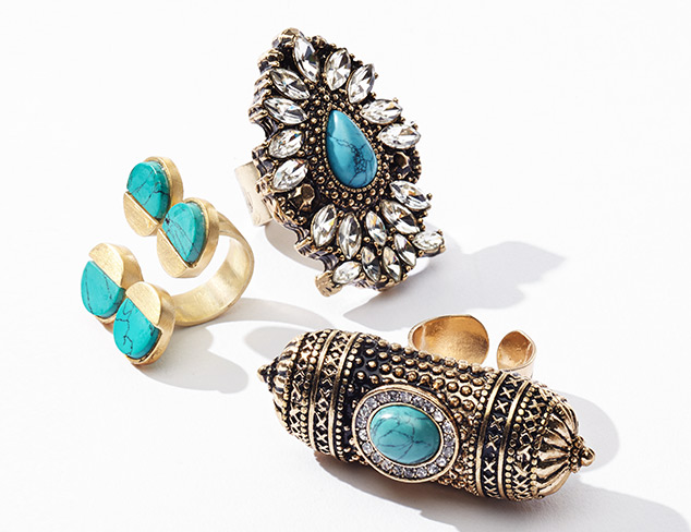 Simply Stunning Rings at MYHABIT