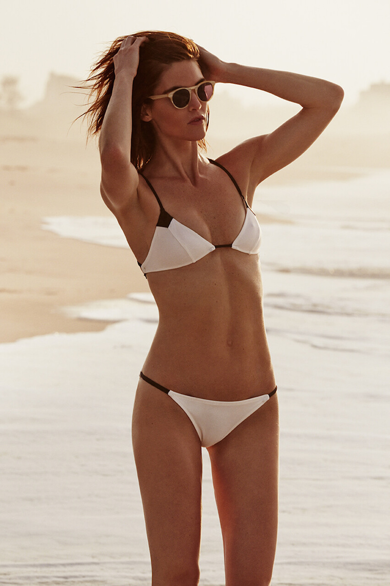 Solid & Striped x Hilary Bikini Set in Cream
