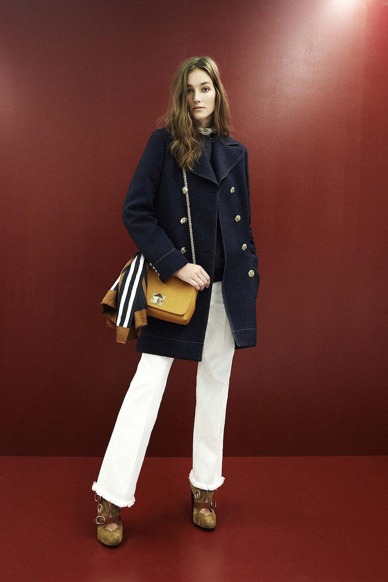 Sonia Rykiel Fringed-hem Mid-rise Straight-leg Jeans