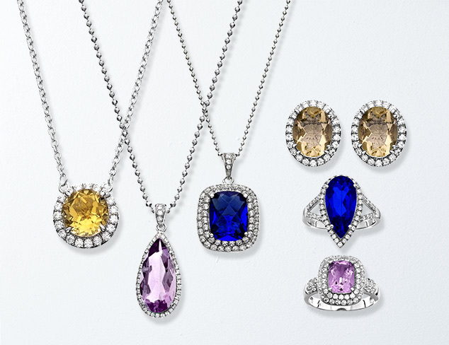 Starting at $30 Genuine Gemstone Jewelry at MYHABIT