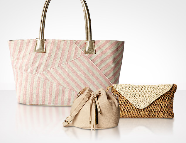 Summer Neutrals Handbags at MYHABIT