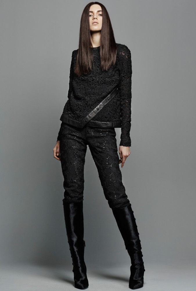 TOM FORD Calf Hair Knee Boots