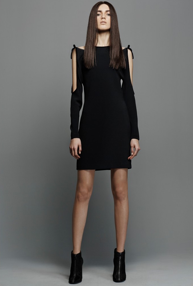 TOM FORD Cut-out Crepe Dress