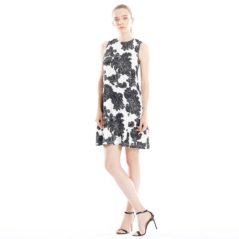 Tanya Taylor Sally Paisley Floral A-Line Shift Dress