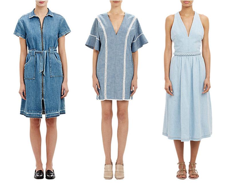 The Denim Dress at Barneys New York