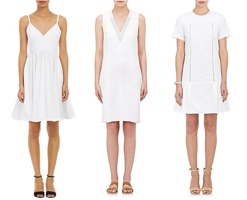 The Little White Dress at Barneys New York
