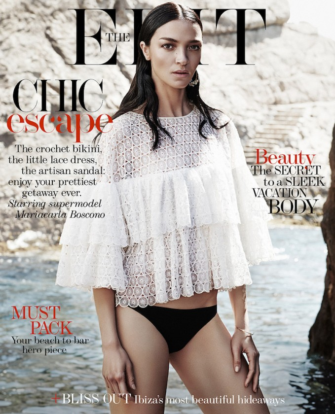 The Modern Muse: Mariacarla Boscono for The EDIT_Cover