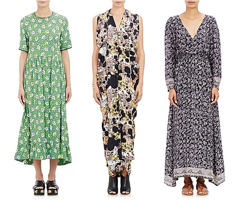 The Printed Maxi at Barneys New York