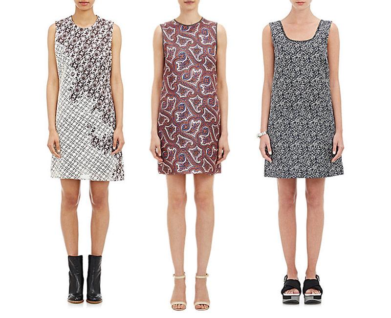 The Printed Mini Dress at Barneys New York