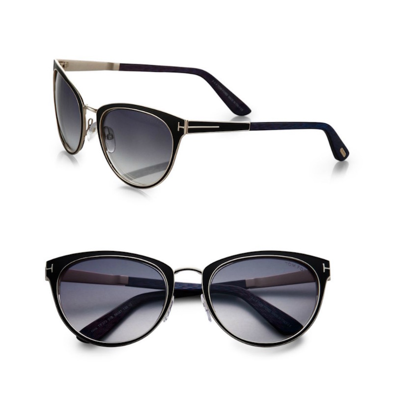 Tom Ford Eyewear Nina 56MM Cat's-Eye Sunglasses