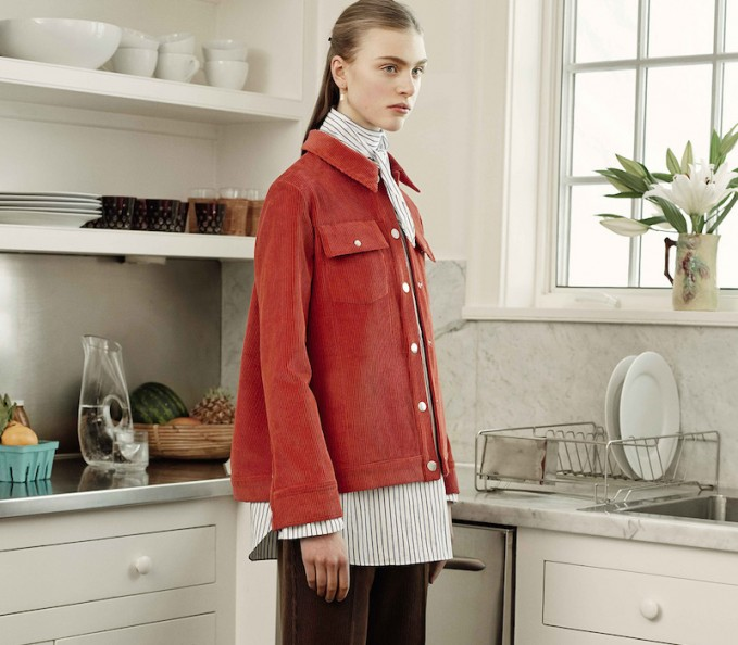 Trademark Fall 2015 collection