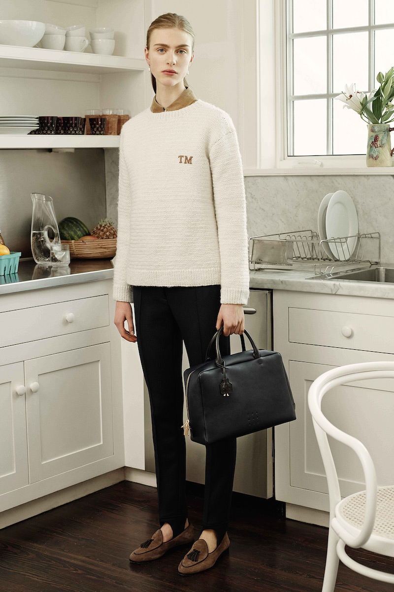 Trademark Logo-embroidered Textured-knit Sweater