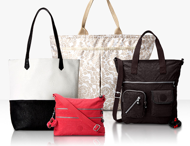 Travel Bags Kipling & More at MYHABIT
