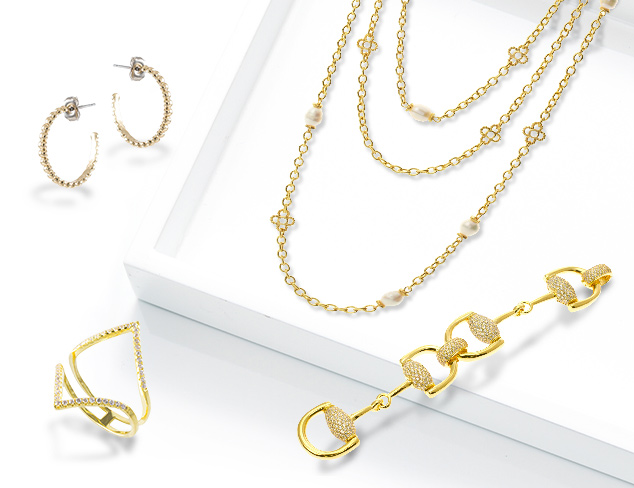 Up to 70 Off Goldtone Jewelry & More at MYHABIT