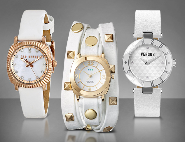 Up to 90 Off White Watches feat. La Mer Collections at MYHABIT