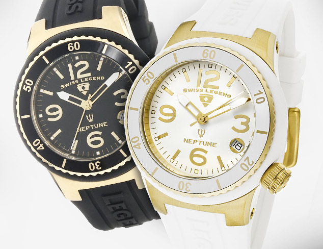 Up to 90 Swiss Legend & More Watches at MYHABIT